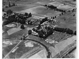 Aerial view c 1920 before Western Avenue